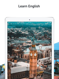 Learn English with Busuu ipad images
