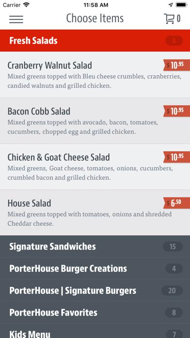 The Porterhouse Burger Company screenshot 3