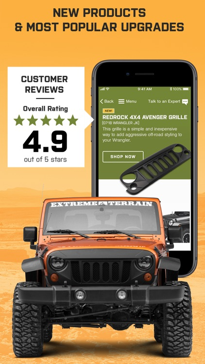 Jeep Parts by ExtremeTerrain screenshot-4