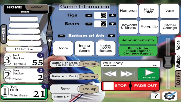 Gametime Announcer Travel Team screenshot-5