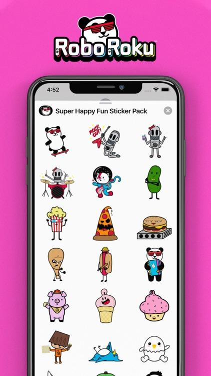 Robo Roku's Super Happy Fun