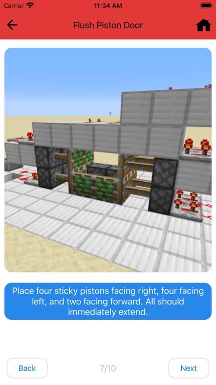 Redstone Guide - for Minecraft screenshot-4