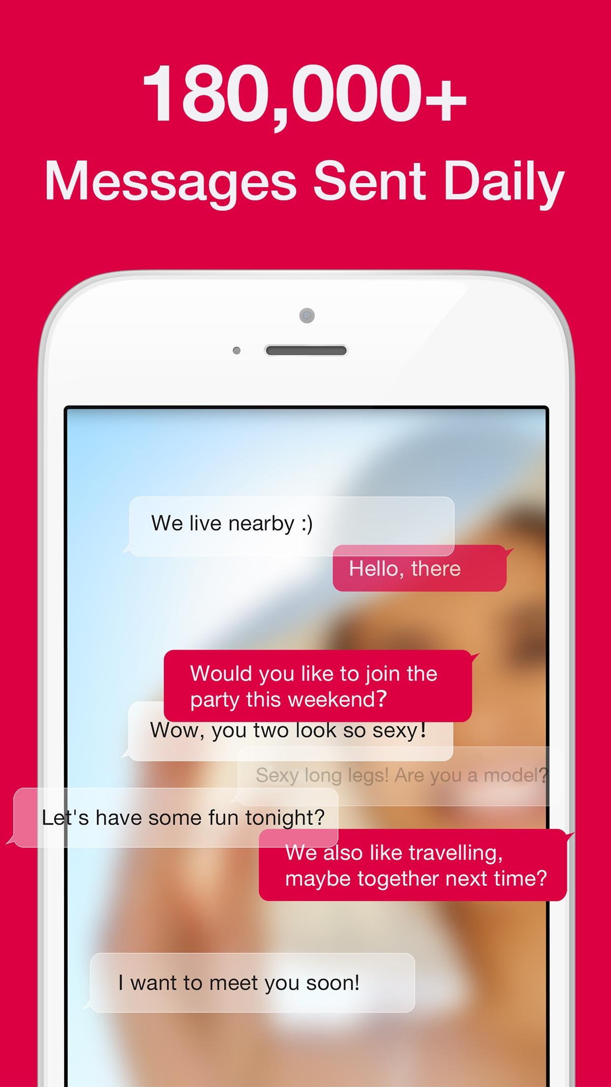 3Fun: Threesome & Swingers App Screenshot