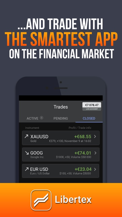 Libertex - mobile trading screenshot-4