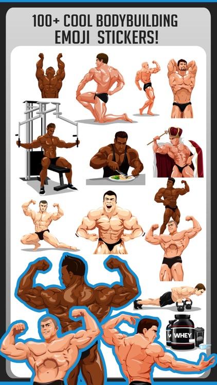 Body Building Stickers Emoji