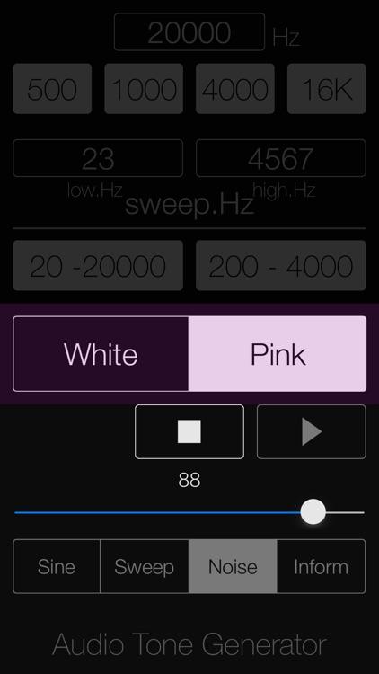Audio Tone Generator Lite screenshot-5