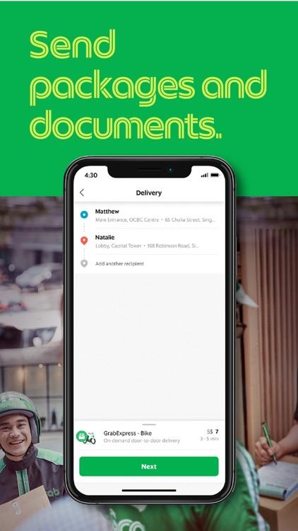 Grab App screenshot-3