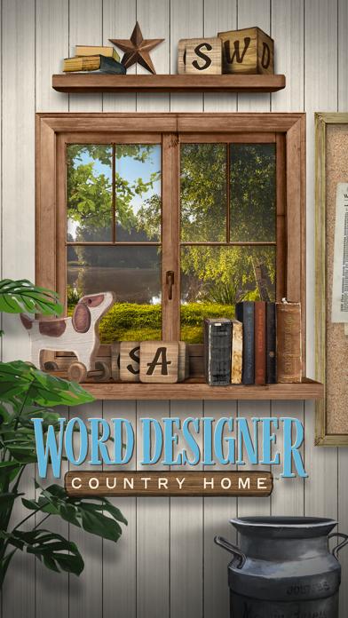 Word Designer: Country Home screenshot 5