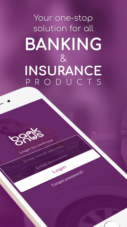 BankOnUs: Insurance & Banking screenshot-1
