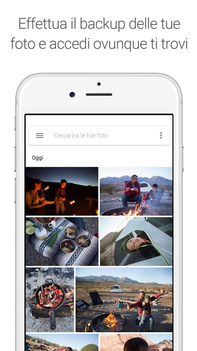 Screenshot for Google Foto in Italy App Store