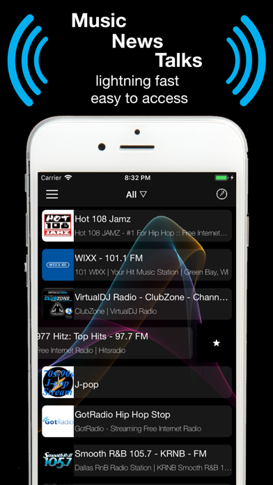 Top 10 Apps like Radio USA Music News Sports FM in 2019 for iPhone