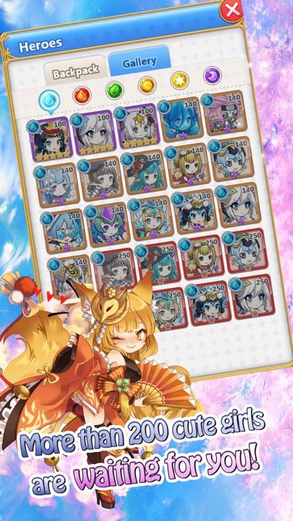 Summon Princess-Anime AFK SRPG