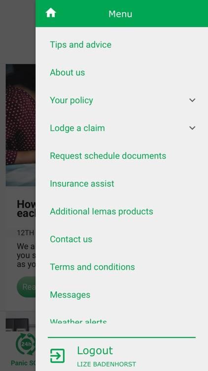 Iemas Insurance App