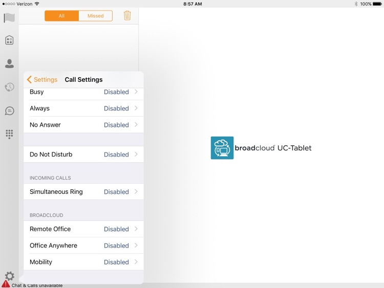 UC-One Carrier Tablet screenshot-3