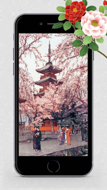 Ukiyo-e Wallpapers screenshot-7
