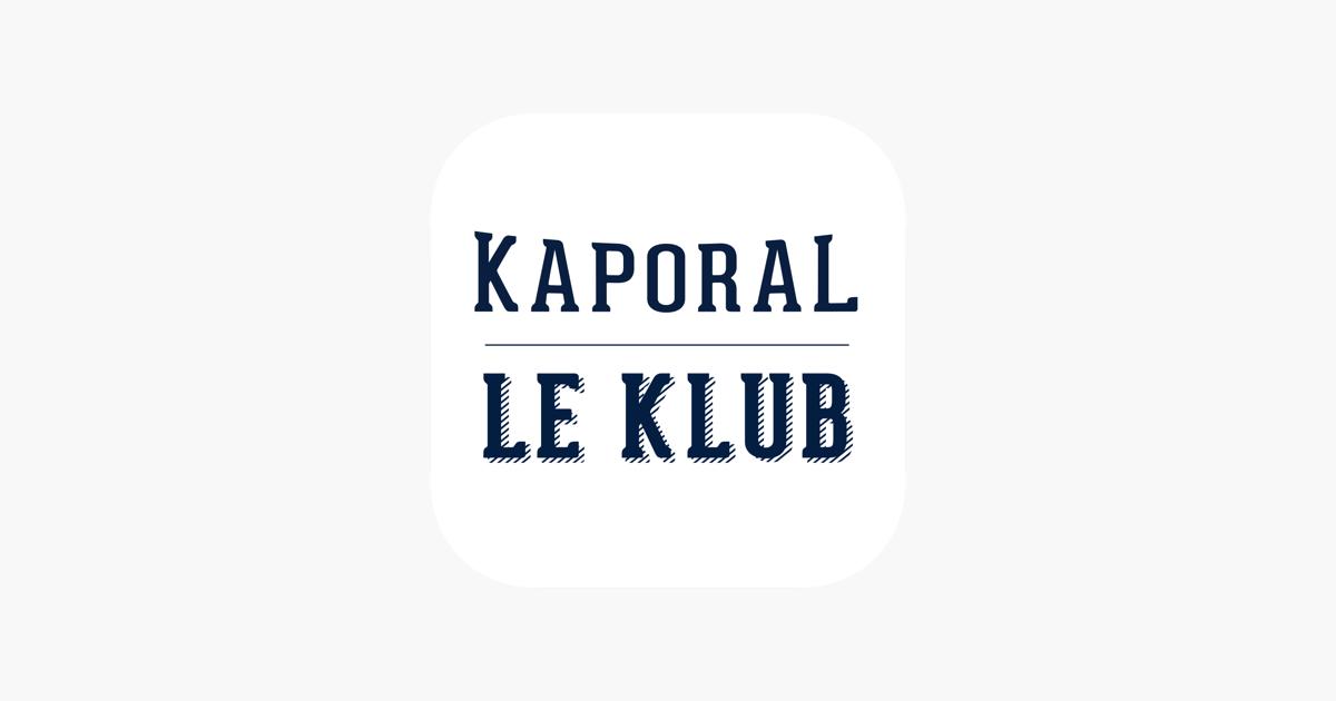Carte Cadeau Kaporal.Le Klub Kaporal Dans L App Store