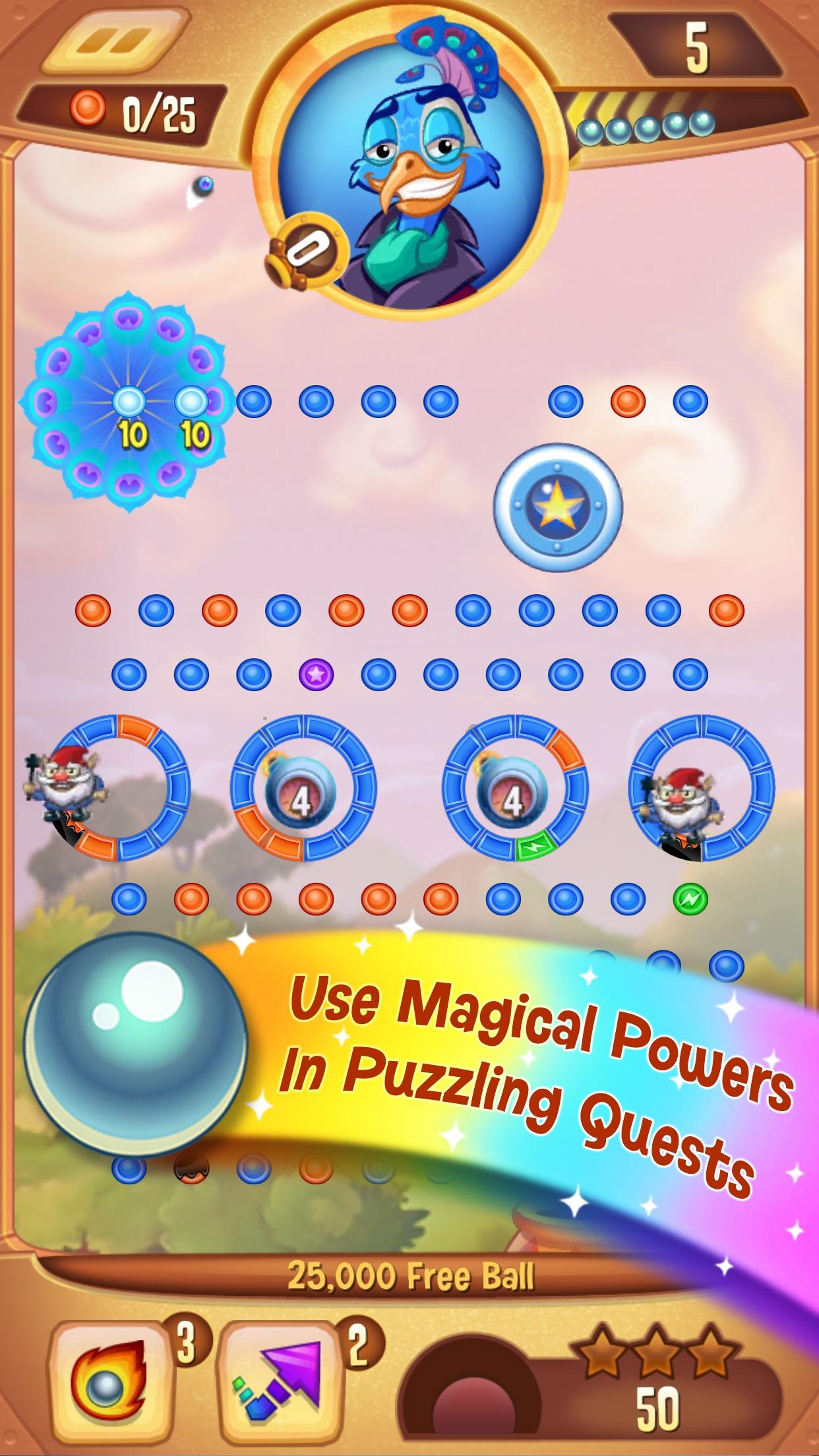 Peggle Blast Screenshot