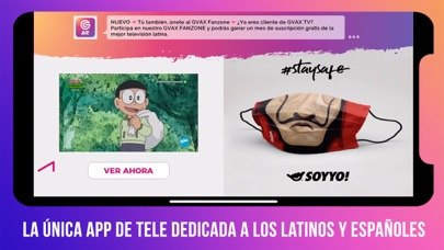 GVAX TV Air - 100% Latino screenshot one