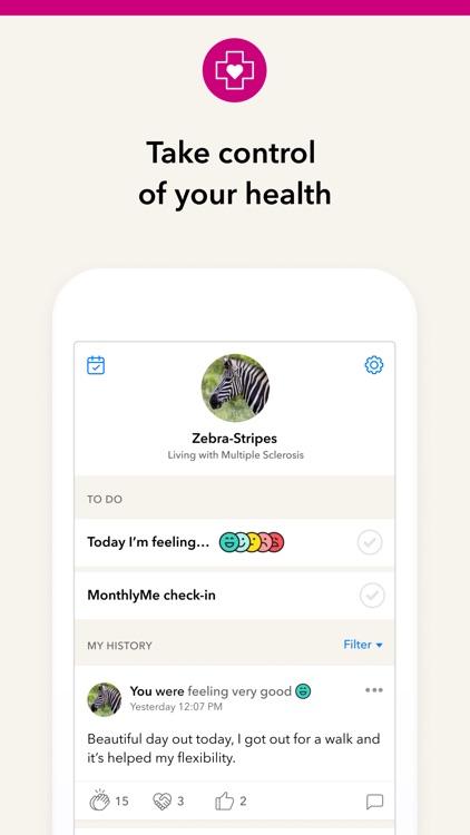 PatientsLikeMe screenshot-3