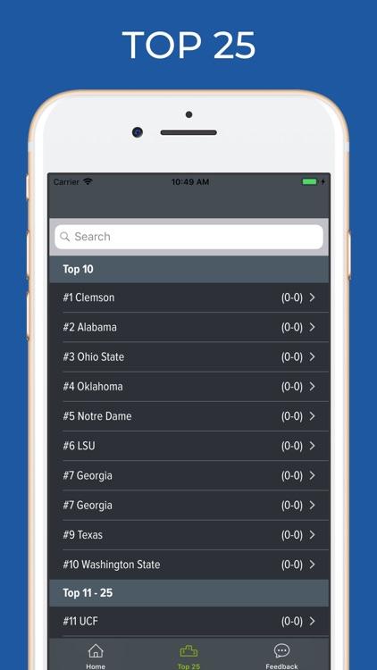 Notre Dame Football screenshot-5