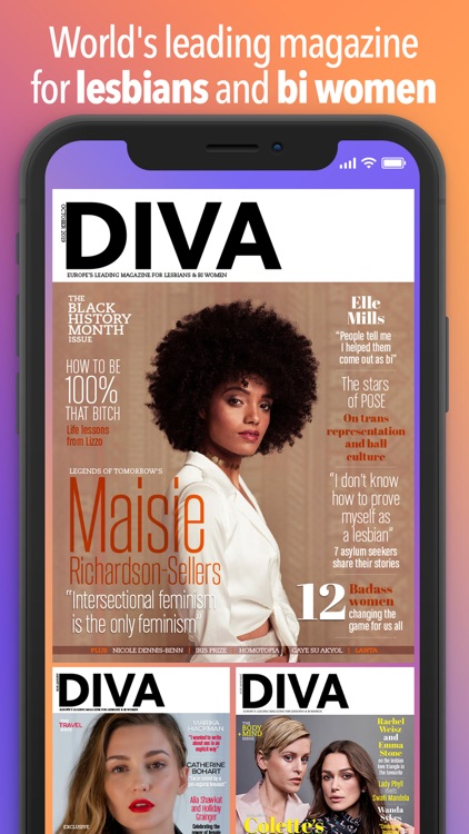DIVA Magazine screenshot-0