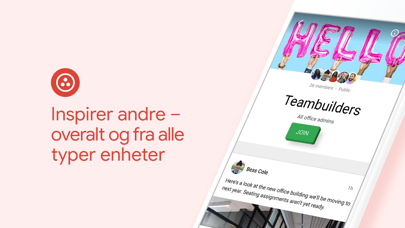Screenshot for Google+ for G Suite in Norway App Store