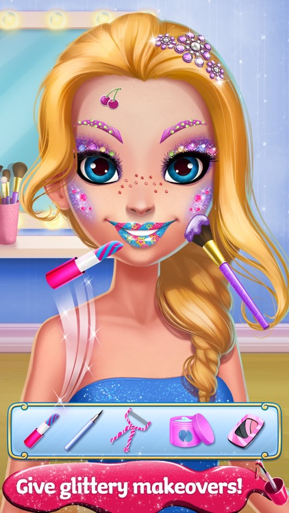 Glitter Makeup Salon