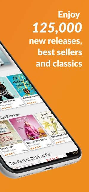 apple audiobooks app