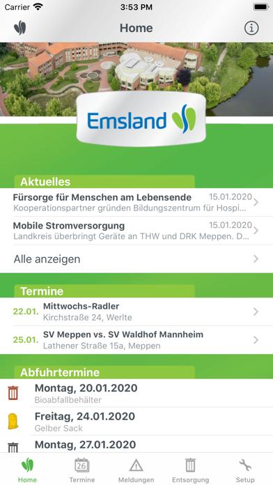 messages.download Landkreis Emsland software