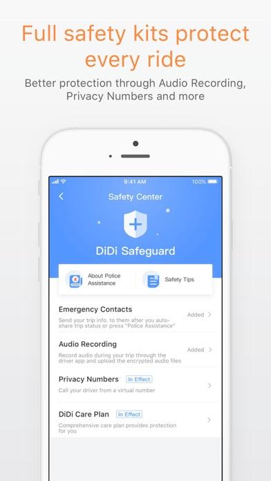 Screenshot for DiDi - Greater China in Azerbaijan App Store