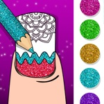 Nail Coloring Book Nail Art