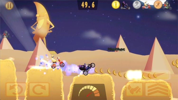 Banana Racer - Moto Racing screenshot-0