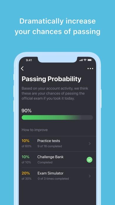 CNA Practice Test Genie 2021 Screenshot