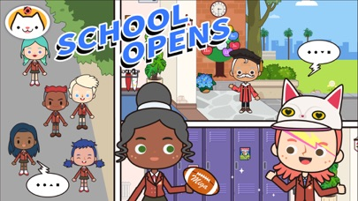 Screenshot for Miga Town: My School in Greece App Store