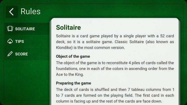 Solitaire (Klondike) + screenshot-3