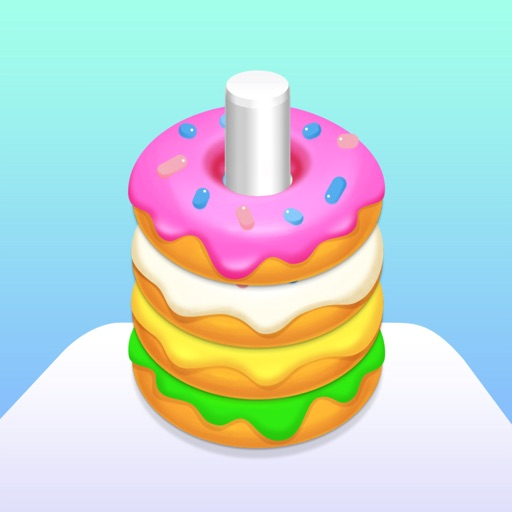 Donut Stack Puzzle