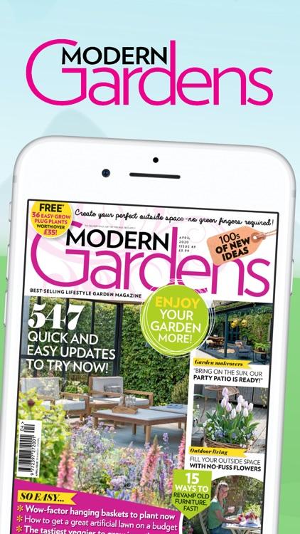 Modern Gardens – Tips & Ideas screenshot-0