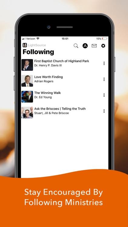 LightSource: Christian Sermons screenshot-4