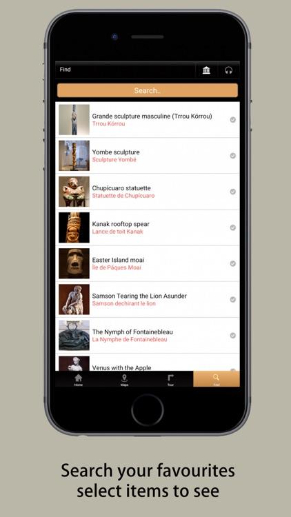 Louvre Museum Visitor's Guide screenshot-4