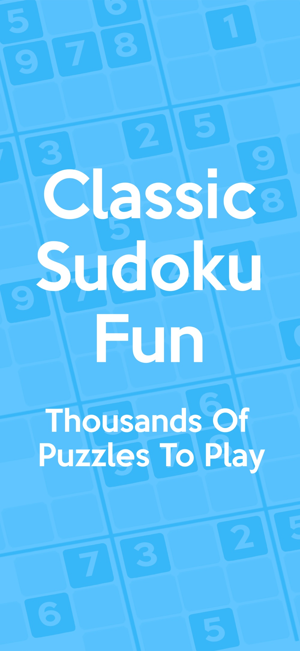 Sudoku ⋆⋆ Cheat Codes