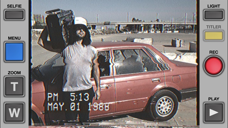 VHS Cam - Retro 80s Camcorder by Rarevision