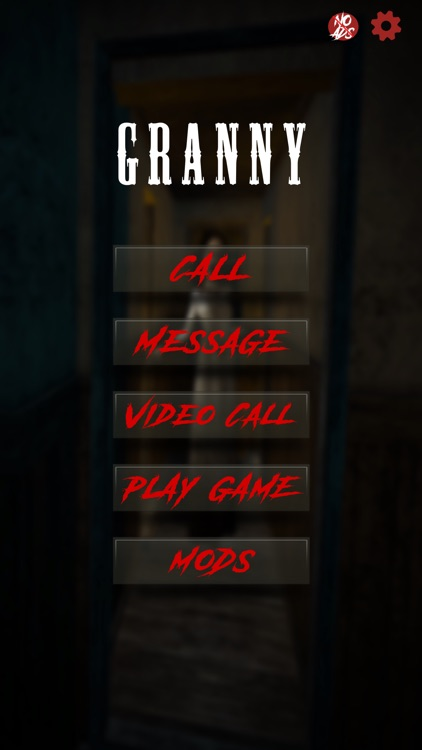 Scary Granny Contact Game