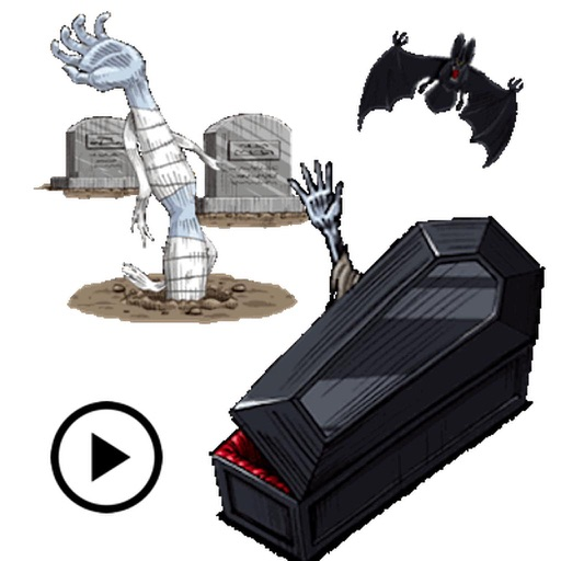 Animated Horror Halloween Icon
