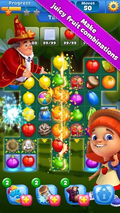 Fruit Land Match3 Adventure App Voor Iphone Ipad En