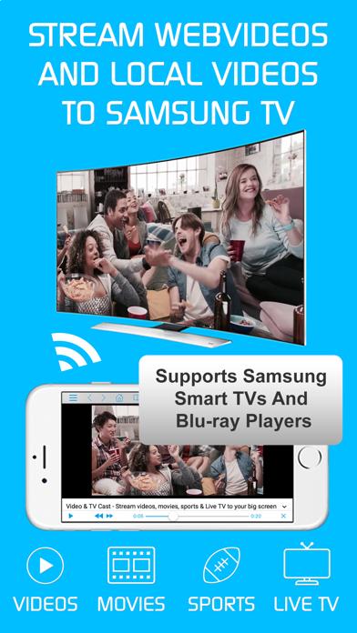 Video & TV Cast + Samsung TV