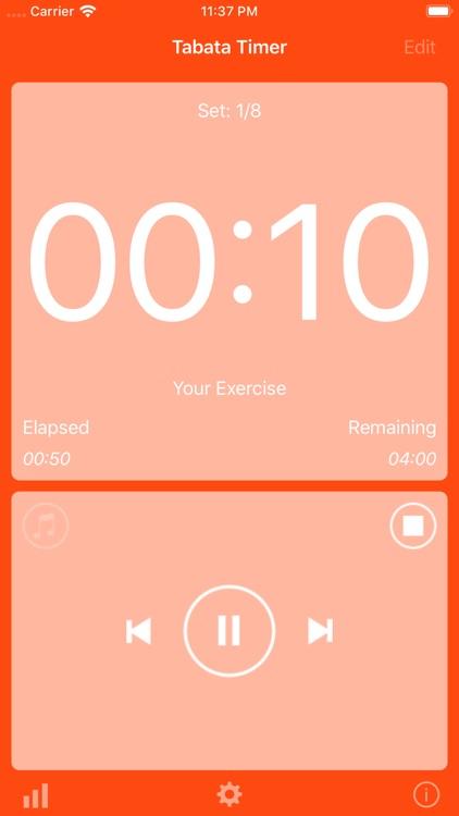 Tabata Timer Training screenshot-3