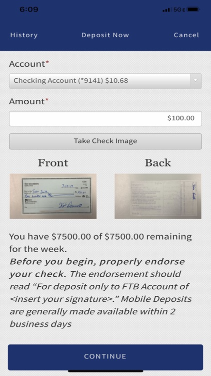 Capital Bank US Mobile Banking screenshot-4