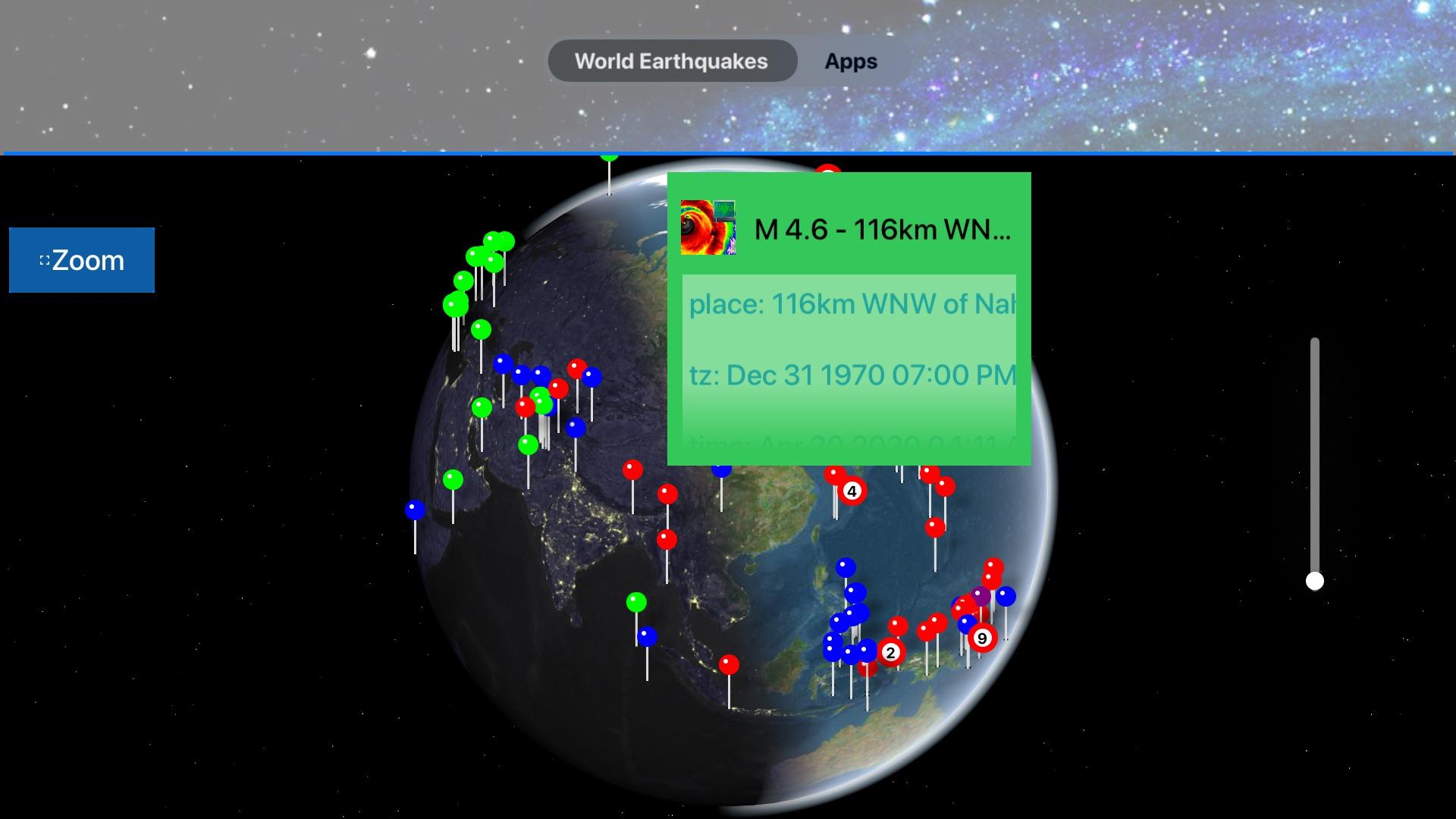 Instant USGS Earthquake Lite screenshot 16