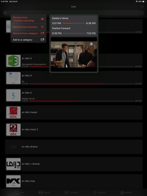 iProTV for iPtv & m3u content screenshot 12