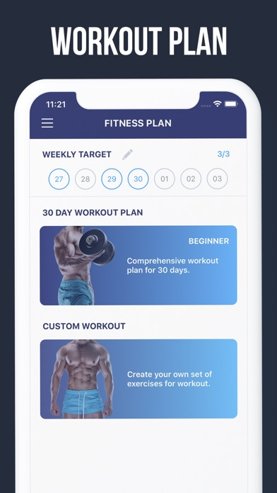 30 Day Upper Body Challenge screenshot two